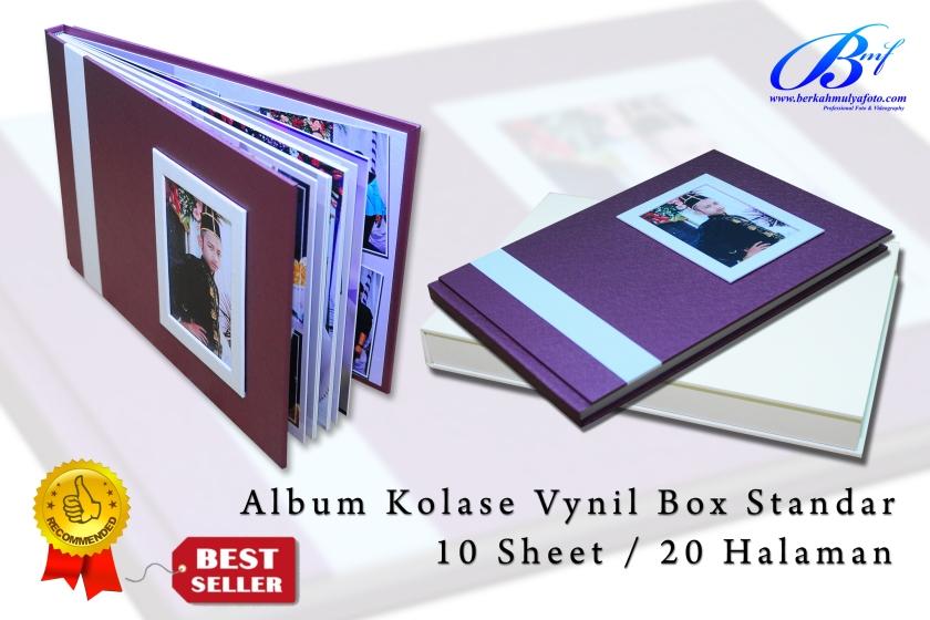 Album Kolase Box Standar