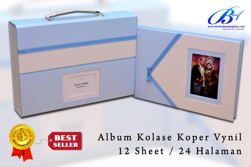 Album Kolase Koper Vynil 2