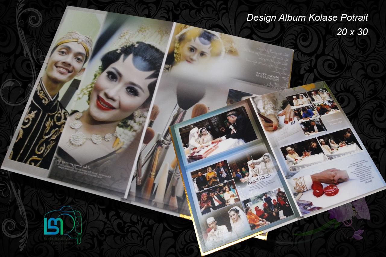 Contoh Album Kolase Desain Berkah Mulya Foto Contoh desain foto kolase
