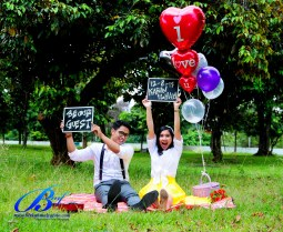 Jasa foto prewedding di taman mini (2)