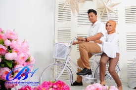 Jasa prewedding indoor