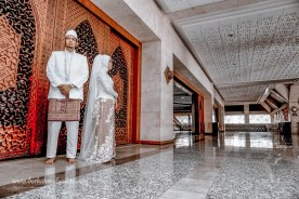 Jasa Foto Wedding di Masjid At Tin Taman Mini