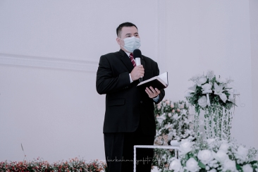 Foto Pemberkatan di Gereja Masehi Advent